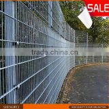 High Quality galvanized powder coated double wire fence, double wire fence, nylofor 2d fence