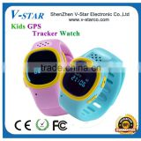 latest real-time smallest kids wrist watch gps tracker/ watch gps tracking device,gps tracker kids