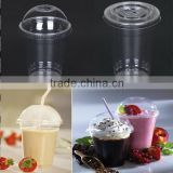 Disposable Custom Printed Clear Milkshake / Smoothie / Juice / Slush Plastic Cup                                                                         Quality Choice