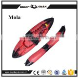 No inflatable cheap plastic small boat sit on top kayak
