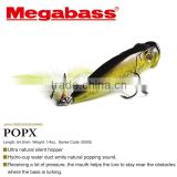 Various types of top water fishing lure parts made in Japan