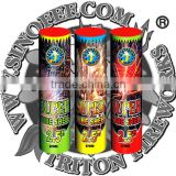 "Super Tube Shells 2.5""/wholesale fireworks/1.4g UN0336 consumer fireworks/fireworks factory direct price"
