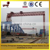 Double Girder Electric Winch Truss Gantry Crane