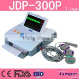 7 Inch JDP-300P Portable Hospital Fetal /Maternal Monitor with CE,FDA Approved Supplied by China Supplier