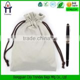 Wholesale cotton fabric draw string bag