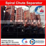 5LL-1200 wolframite ore processing plant,spiral chute for separating iron ore,zircon,ilmenite,chromite,beach sand
