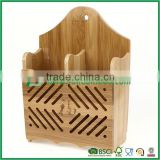 Bamboo wood chopstick holder with stronger