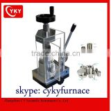 Laboratory manual tablet Press machine with dies / 12T press machine / hydraulic presser