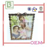 china supplier oblong red bronze metal photo picture frame