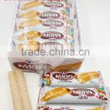 lovers double stick Biscuit bar with cream centre filled (mixed chocolate and milk flavor)                                                                         Quality Choice