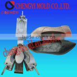 lady leather casting shoe pvc plastic mould injection                                                                         Quality Choice