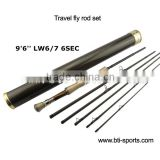 high end fly fishing rod of Karea graphite rod