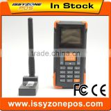 Bluetooth Data Collector Handheld Barcode Reader Mobile Data Terminal Orange Color High Definition IWSI002