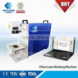 Keyland mini portable fiber lazer engraving machine for metal and non metal materials