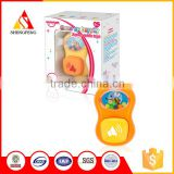 Cute little bee kids toy mobile phone baby hanging rattle