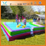 Fighting inflatable jousting game for adult and children