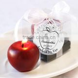 Apple of My Eye Mini Candle in Gift Box with Ribbon and Tag