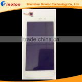 white original touch screen panel sensor lens glass lcd display replacement for explay sugar SS129