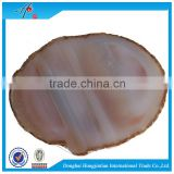 factory price raw agate stones coaster