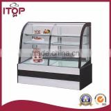 single or double temperature table top freezer
