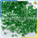 Zibo Tingrio orange terrazzo glass chips manufacture