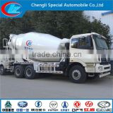 Hot sale mixer truck factory direct cement mixer FOTON 5000L mobile self loading concrete mixer