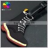 The new arrival 2015 innovative plastic baggage tag,shoes shape luggage tag pvc,aluminum luggage tag