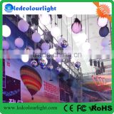 wholesale price colorful kinetic system balls lights dmx winch