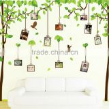 Wall stickers house stickers photo frame stickers flowers butterflies trees cute decoration home decal decor 60*90cm AM9019
