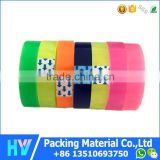 Opp Colorful Clear Stationery Tape For Office And School