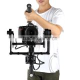 Latest Products 3 axis Brushless gimbal dslr camera gimbal stabilizer Suitable for BMCC Canon 5D2, 5D3