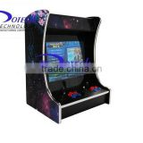 Arcade Party Cocktail Table Video Game 19 inch LCD Desk Arcade Game Machine with 2100 in1 jamma board - 2 player at one side