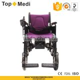 TOPMEDI Best Selling Cheap Price Foldable Electric Wheelchair for Elderly and Disabled People