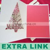 Promotional Silver/Gold Color Foiling Art Paper Card Printing//Thick Paper Card (14th-year printing experience)