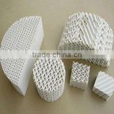 Catalyst Carrier---Ceramic Corrugated Structured Packing