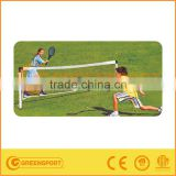 Kids training Garden Plastic Black Tennis net set