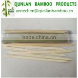 Green color bamboo skewers