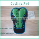 Coolmax Sublimation Printing Cycling Chamois 3D Cycling Pads