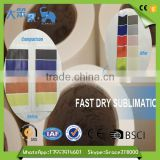 China Factory Suppliers t-shirt heat transfer paper sticker sublimation paper for option size
