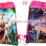 Hot! Tangled school backpack cheap thing to sell cotton Non-woven handbag
