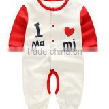 wholesale cheap unisex gender baby rompers 0-3-6months adorable printing wholesale good quality baby sleeve babysuits