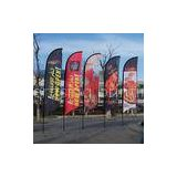digital eco friendly130g knitted polyester flag banner printing of dye sublimation printing