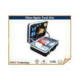 Full Set Emergency Fiber Optic Tool Kits , Waterproof Fiber Optical Tools