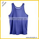Bulk Custom Sport Fitness Blank Nylon Men Tank Top