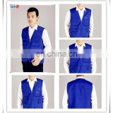 Fashion customized and printed various compression vest men