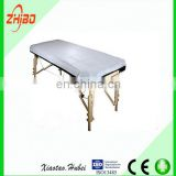 Free Sample Disposable massage table cover with elastic SMS waterproof