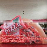 Airblowing Inflatable Pizza Food Replica for Outdoors Exhibition