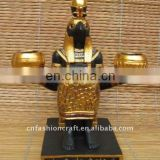 New Egyptian decoraion polyresin candle holder