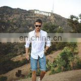 wholesale chino shorts - Custom wholesale couple beach chino cotton shorts for Men's