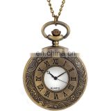 Men mechanical wind hand Vintage pocket watch Steampunk NJ095
